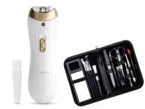 Wellneo Depilator Tweeze Premium + zestaw do manicure
